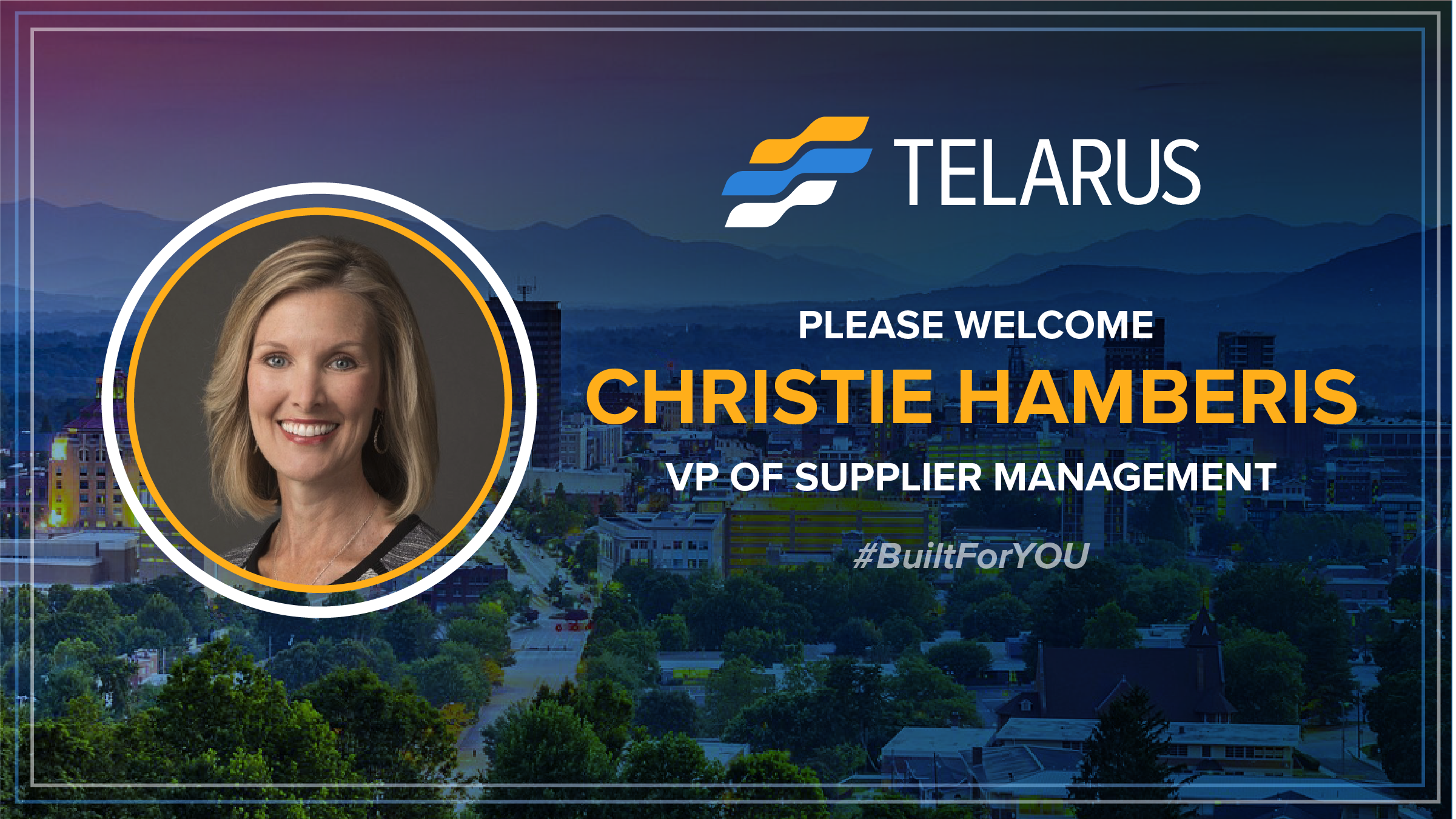 Telarus Hires Christie Hamberis as New VP of Supplier Management